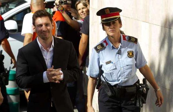 Ratifican condena de cárcel para Messi por fraude fiscal