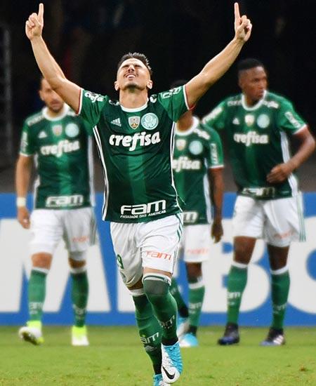 Libertadores: Palmeiras vence a Tucuman y avanza a octavos como primer del Grupo 5