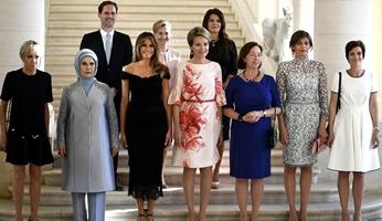 Las primeras damas y el primer caballero
