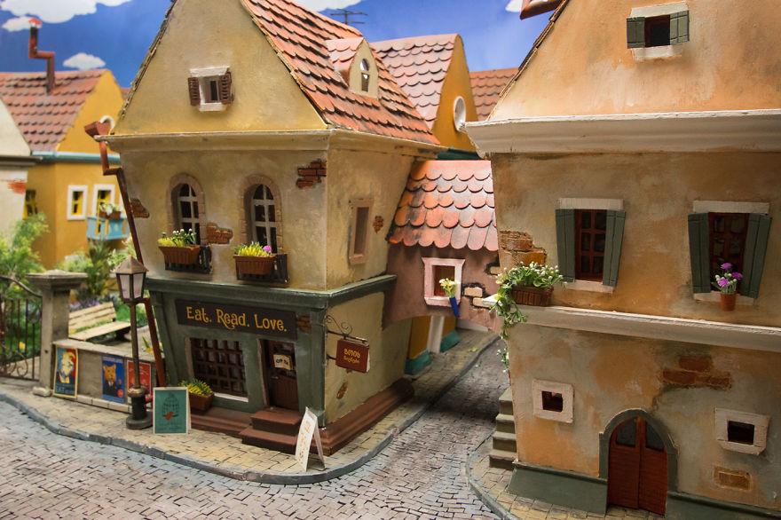 Tardan 1984 horas en crear esta ciudad en miniatura para hámsters