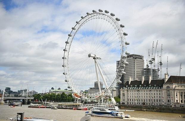 Evacuación temporal del London Eye por un explosivo de la guerra mundial