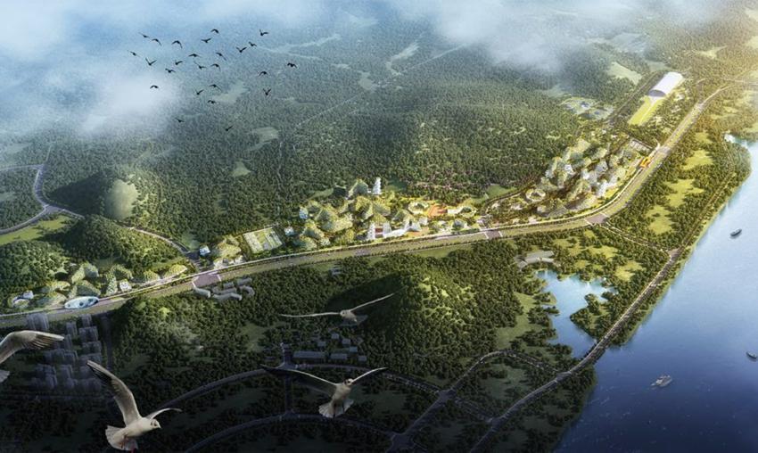 Así va a ser la primera ciudad bosque que va a luchar contra la contaminación5