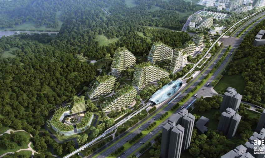 Así va a ser la primera ciudad bosque que va a luchar contra la contaminación9