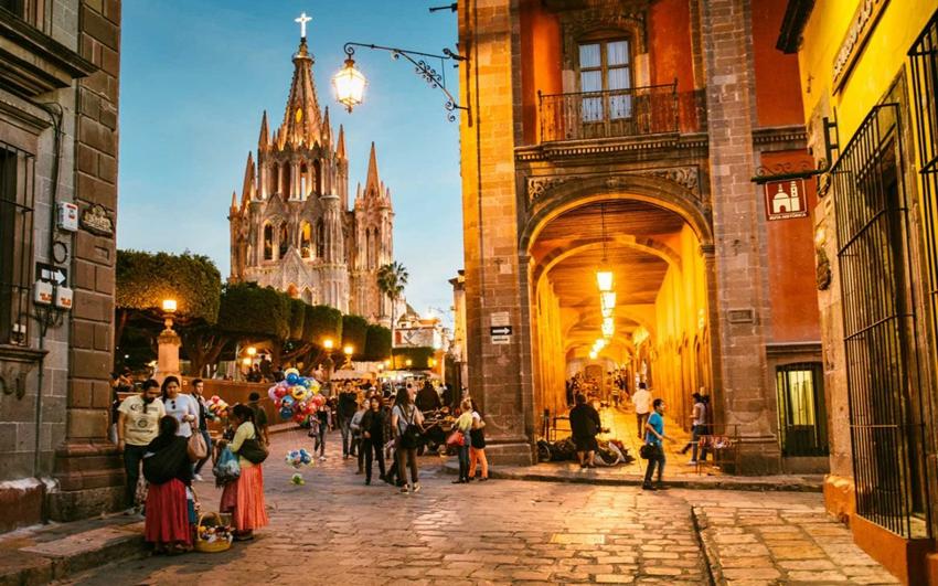San Miguel de Allende, en México, es la 'Mejor Ciudad del Mundo'