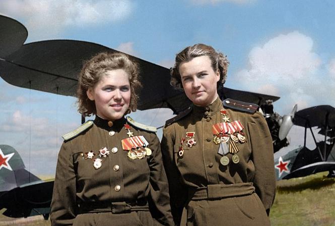 Las valientes pilotos de la URSS durante la II Guerra Mundial