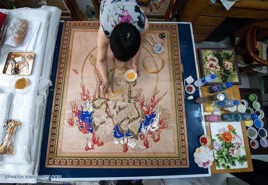 Arte del esmalte de cer mica de color con alambre dorado Esmalte para ceramica