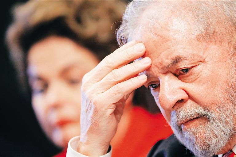 Banco Central de Brasil bloquea 192.000 dólares a ex presidente Lula da Silva