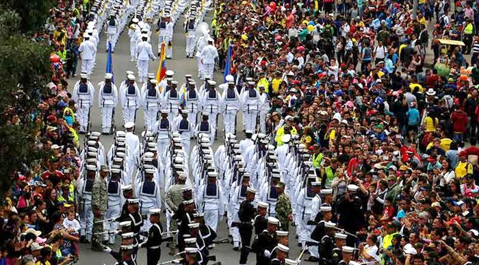 Colombia vive su primer 20 de julio 'sin la sombra de la guerra'