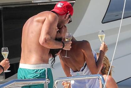 Frank Lampard y su esposa ostentan su amor en vacaciones