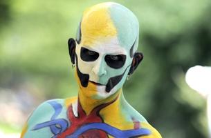 Un vistazo al día de pinturas corporales en Nueva York