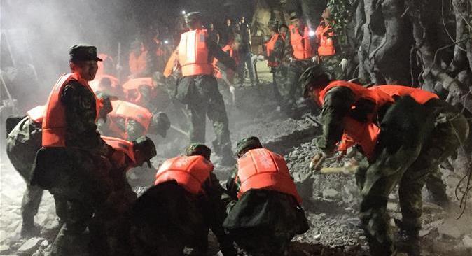 Se eleva a siete número de muertos por sismo de magnitud 7,0 en China