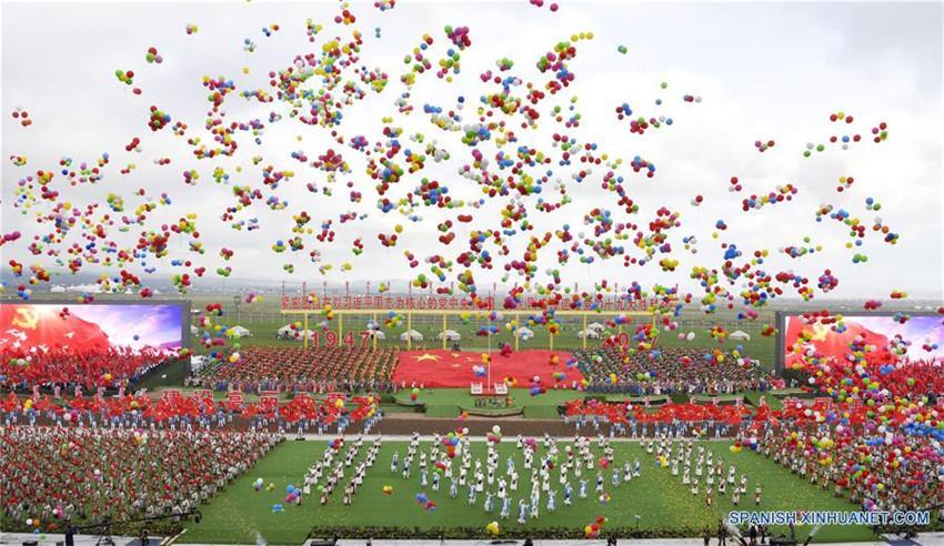 China celebra 70º aniversario de su primera región autónoma