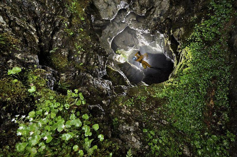 Las increibles cuevas de Obir Tropfsteinh
