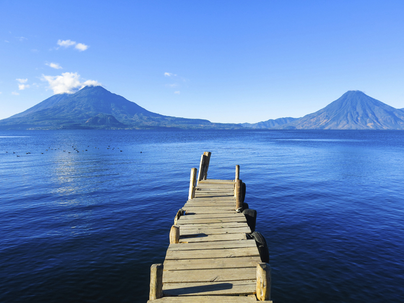 Paisajes increíbles del Lago Atitlán