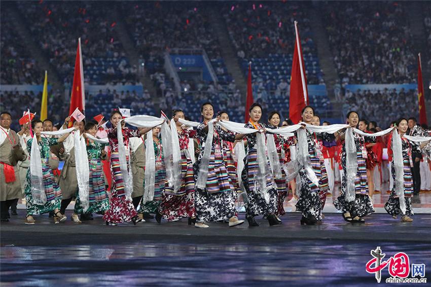 XIII Juegos Nacionales de China son inaugurados en Tianjin