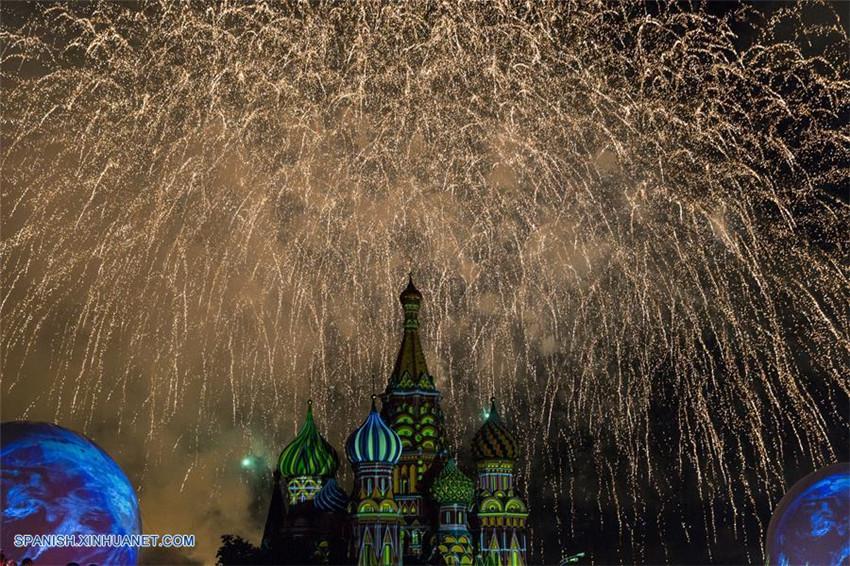 Rusia: Festival Internacional de Música Militar 'Spasskaya Tower' en Moscú
