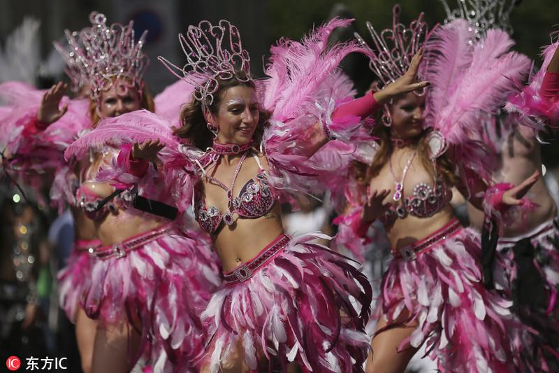Carnaval de Notting Hill en Londres 20171