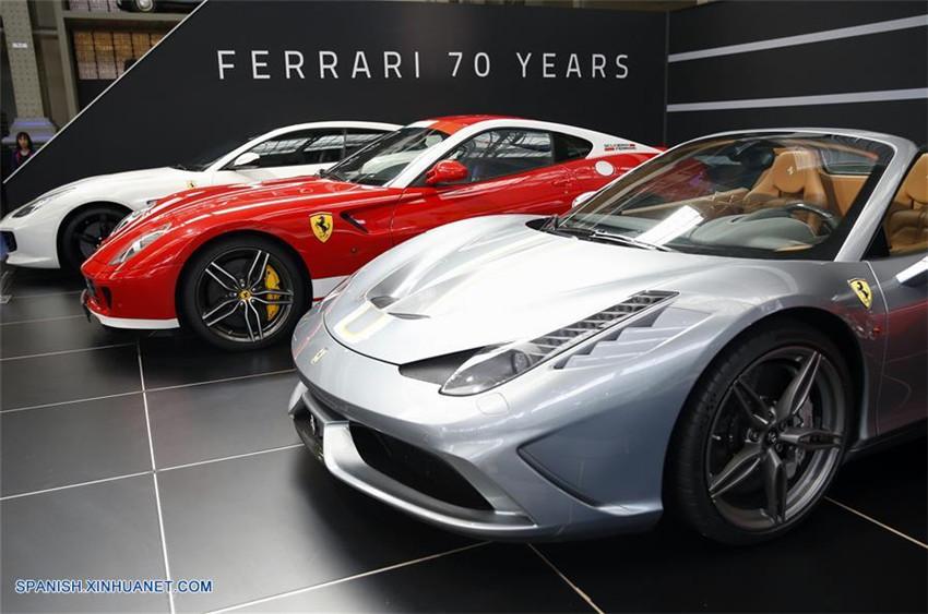 Salón del Automóvil de Ferrari