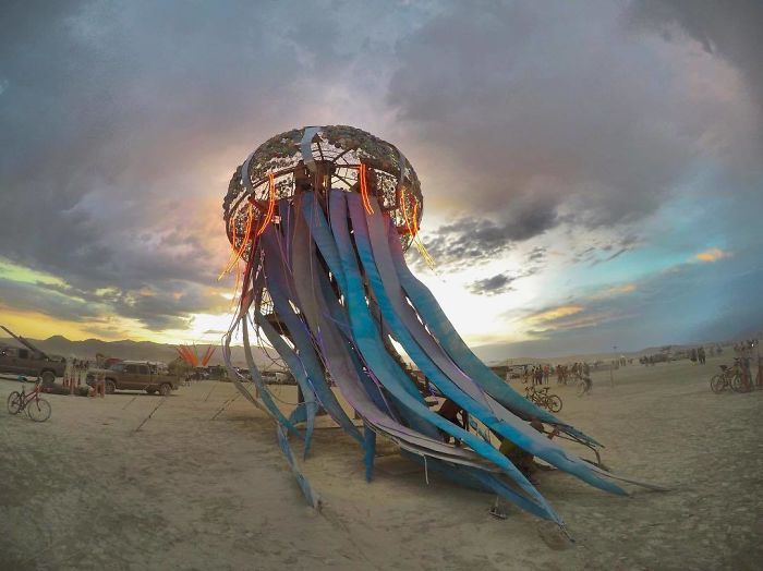 10 Fotos épicas de Burning Man 2017