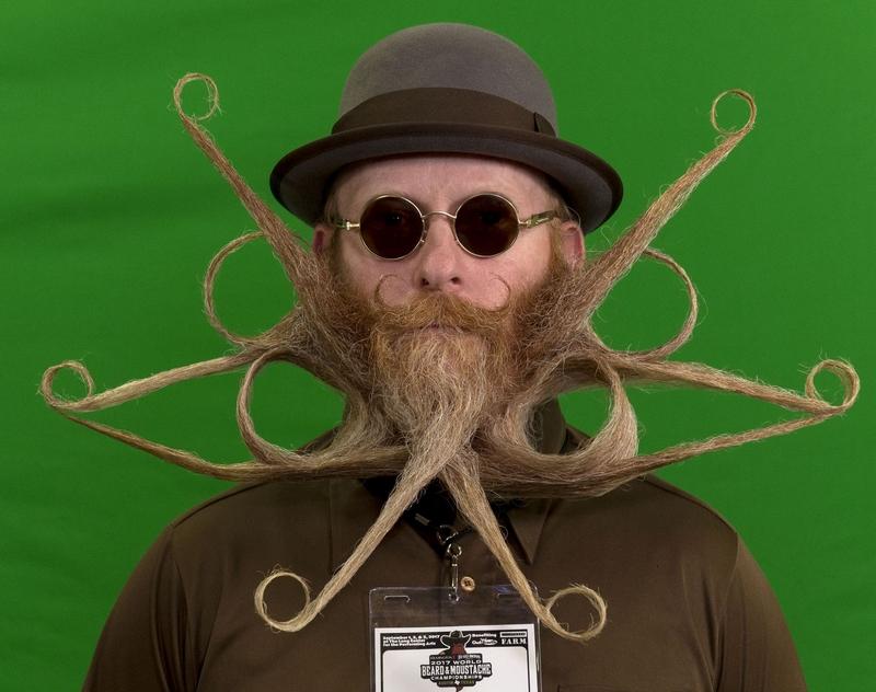 Impresiónate con estos bigotes y barbas1