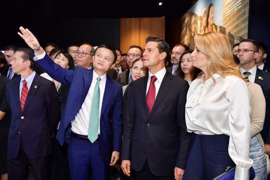 Peña Nieto firma acuerdo con Alibaba en beneficio de las pymes mexicanas 2