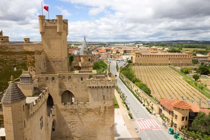 Castillos españoles a lo Juego de Tronos