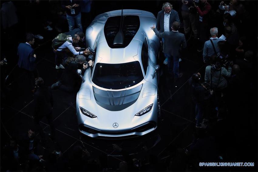 Mercedes AMG Project One en vísperas de la inauguración del Salón Internacional de Automóvil