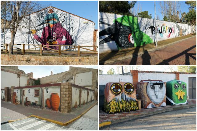 Rutas de Arte urbano por España