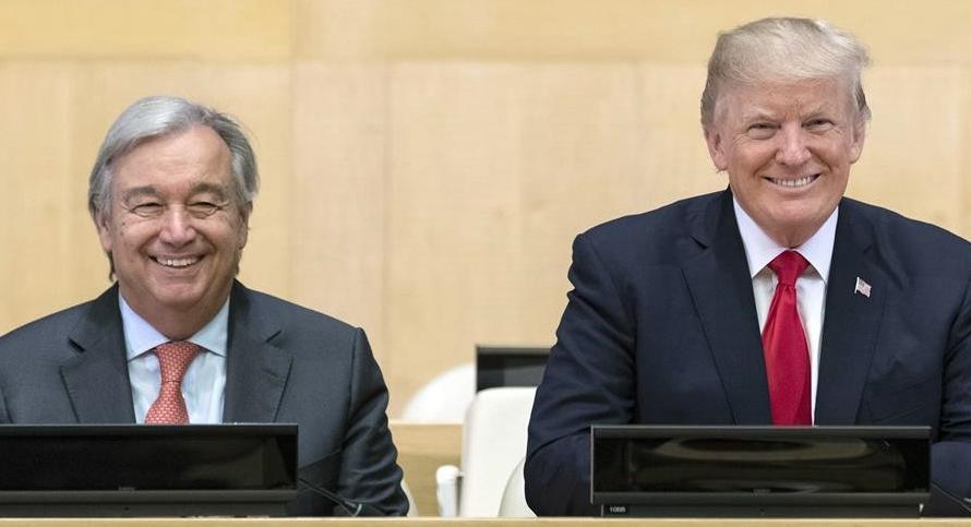 Guterres y Trump piden cambio en burocracia de ONU