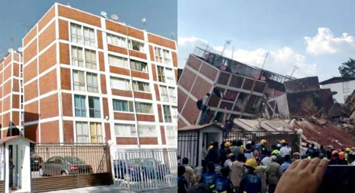 10 escenarios antes y después del terremoto en la CDMX