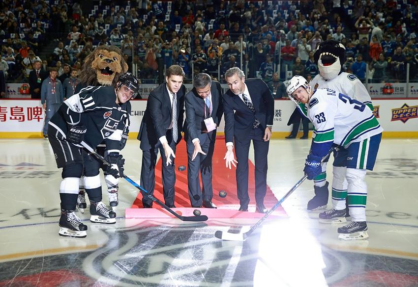 La NHL impulsará el hockey en China a un nuevo nivel