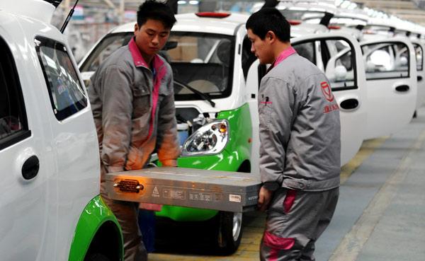 Segmento de vehículos eléctricos sube como la espuma en China