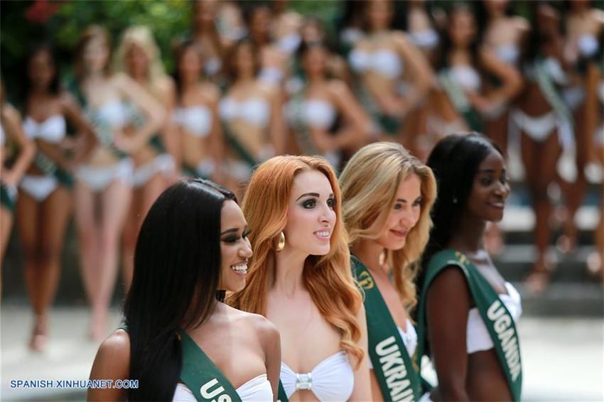 Candidatas de Miss Tierra 2017