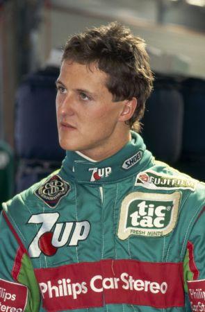 Los momentos inolvidables de la carrera de Michael Schumacher 1