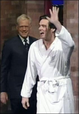 Jim Carrey Goes Naked On Letterman China Org Cn