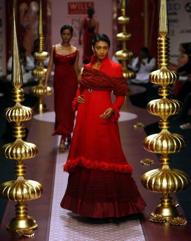 Wills Lifestyle India Fashion Week In New Delhi