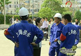 Water supply repair teams head for Sichuan -- china org cn