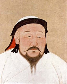 Kublai Khan (1215-1294). This founder of the Yuan Dynasty welcomed foreign trade.