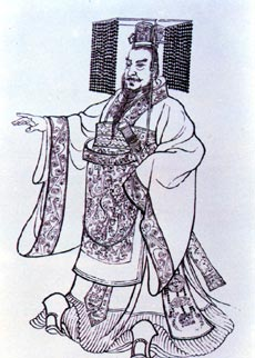 The First Emperor of Qin (259-210BC) unified China and commissioned the Great Wall to be built.