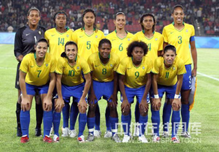 The brazilian team took the silver at the 2007 women's world cup