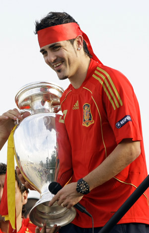 Spain celebrates victory in Euro 2008 -- china.org.cn