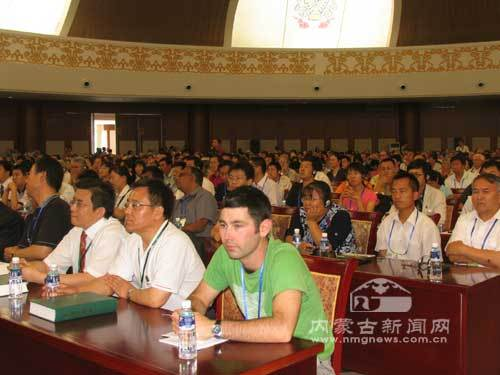 The 2008 International Grassland and Rangeland Congress in Hohhot, capital of north China's Inner Mongolia Autonomous Region, on June 29, 2008.