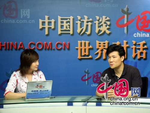 China.org.cn interviewed Jia Peng, director of publicity for the Beijing Subway Operation Co. Ltd, on July 9, 2008