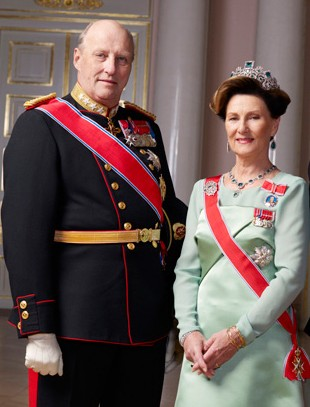 King And Queen Of Norway http://www.china.org.cn/olympics/news/2008-07/24/content_16061801.htm