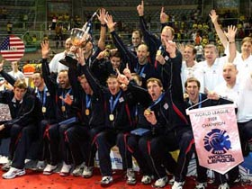 US captures 1st World League title