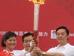 Torch relay in Chengdu