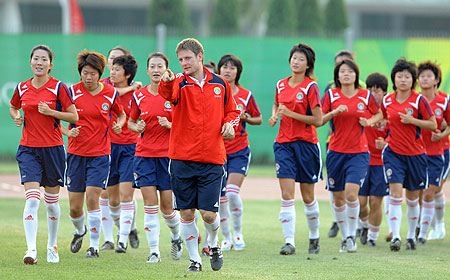Chinese women's football team: Preparing for the Olympics ...
