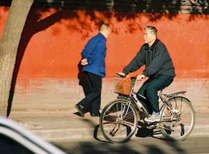 Biking in Beijing