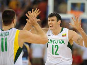 Lithuania beats Argentina 79-75 in men's basketball preliminary