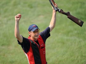 American Walton Eller wins men's double trap gold